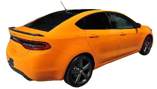 Srt Dodge Dart >> 2013-2015 Dodge Dart SRT Factory Style Rear Spoiler