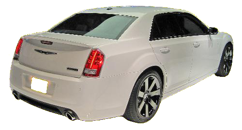 chrysler  factory style srt rear spoiler